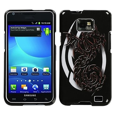 Insten® Phone Protector Case For Samsung I777 Galaxy S2, Firebrand Dragon