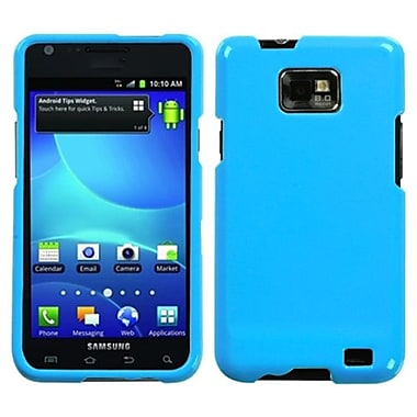 Insten® Fishbone Phone Protector Case For Samsung I777 Galaxy S2, Light Natural Turquoise