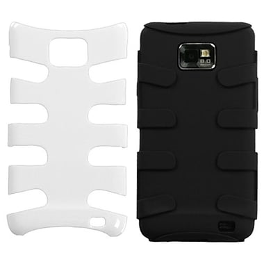 Insten® Natural Fishbone Phone Protector Case For Samsung I777 Galaxy S2, Ivory White