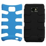 Insten® Fishbone Phone Protector Case For Samsung I777 Galaxy S2, Natural Turquoise