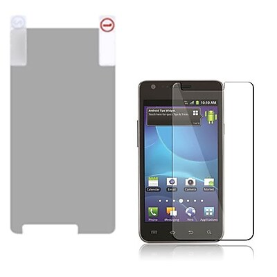 Insten Anti Grease LCD Screen Protector For Samsung I777 Galaxy S2 Clear