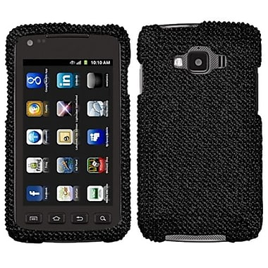 Insten® Diamante Protector Case For Samsung I847 (Rugby Smart), Black