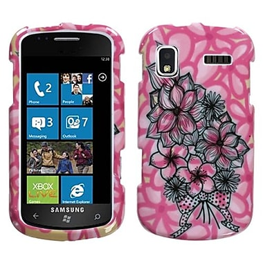 Insten® Phone Protector Case For Samsung i917 (Focus), Bouquet