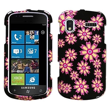 Insten® Phone Protector Case For Samsung i917 (Focus), Flower Wall