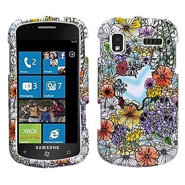 Insten® Phone Protector Case For Samsung i917 (Focus), Flower Shop