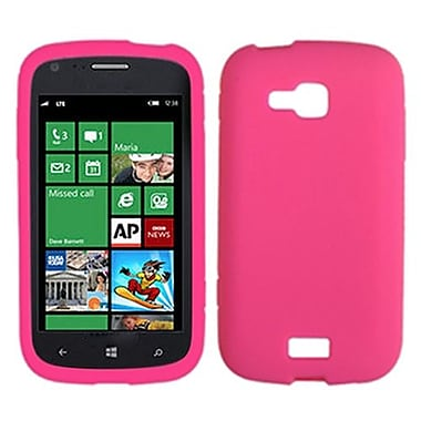Insten® Solid Skin Case For Samsung i930 ATIV Odyssey, Hot-Pink
