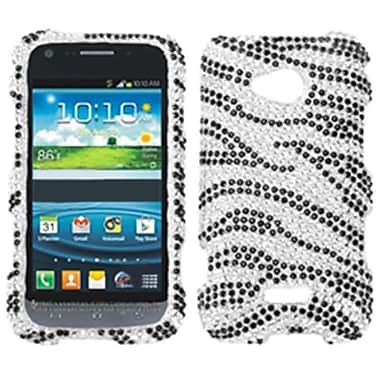 Insten® Skin Diamante Protector Cases For Samsung L300 Galaxy Victory 4G LTE