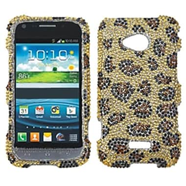 Insten® Skin Diamante Protector Case For Samsung L300 Galaxy Victory 4G LTE, Leopard/Camel
