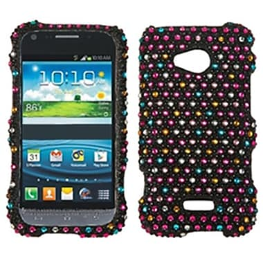 Insten® Diamante Protector Case For Samsung L300 Galaxy Victory 4G LTE, Sprinkle Dots