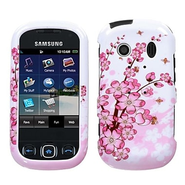 Insten® Phone Protector Case For Samsung M350 (Seek), Spring Flowers