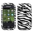Insten® Skin Phone Protector Case For Samsung M380/Trender, Zebra