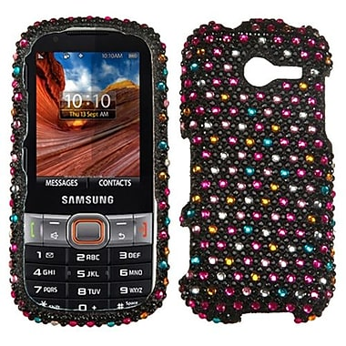 Insten® Diamante Protector Case For Samsung M390 (Montage), Sprinkle Dots