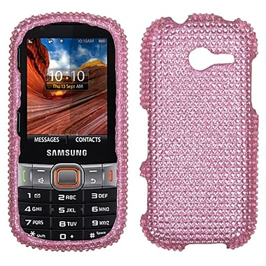 Insten® Diamante Protector Case For Samsung M390 (Montage), Pink