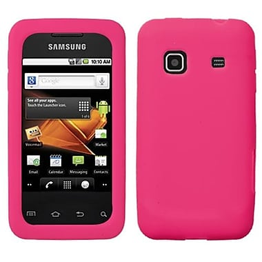 Insten® Skin Case For Samsung M820 Galaxy Prevail, Solid Hot-Pink