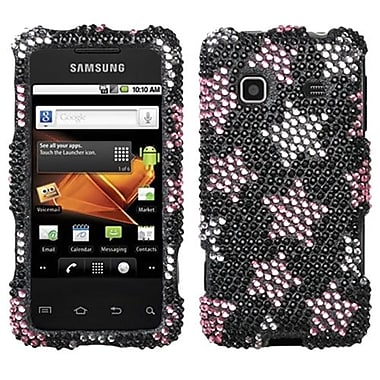 Insten® Diamante Protector Case For Samsung M820 Galaxy Prevail, Falling Stars