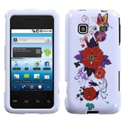 Insten® Phone Protector Case For Samsung M820 Galaxy Prevail, Wisteria Butterfly Flowers