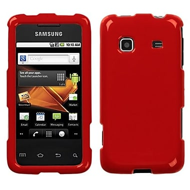 Insten® Phone Protector Case For Samsung M820 Galaxy Prevail, Solid Flaming Red
