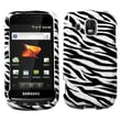 Insten® Skin Phone Protector Case For Samsung M930 (Transform Ultra), Zebra