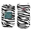 Insten® Skin Phone Protector Case For Samsung R270 (Chrono 2)/R270 (Contour 2), Zebra