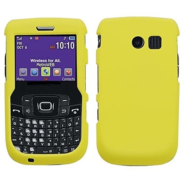 Insten® Rubberized Phone Protector Case For Samsung R360 (Freeform II), Yellow