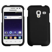Insten® Rubberized Phone Protector Case For Samsung R820, Black