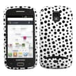 Insten® Phone Protector Case For Samsung T699 Galaxy S Replay 4G, Black Mixed Polka Dots