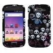 Insten® Phone Protector Case For Samsung T769 Galaxy S Blaze 4G, Swag Skulls