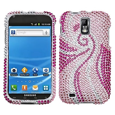 Insten® Diamante Protector Case For Samsung T989 Galaxy S2, Phoenix Tail