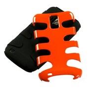 Insten® Fishbone Phone Protector Case For Samsung T989 Galaxy S2, Carrot Orange/Black