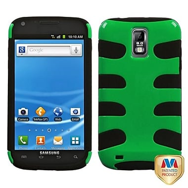 Insten® Natural Fishbone Phone Protector Case For Samsung T989 Galaxy S2, Green