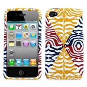 Insten® Phone Protector Cover F/iPhone 4/4S, Animal Skin Motley