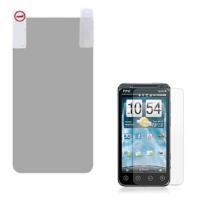 Insten Anti Grease LCD Screen Protector For HTC EVO 3D Clear