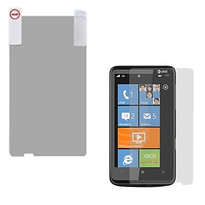 Insten Anti Grease LCD Screen Protector For HTC HD7S Clear