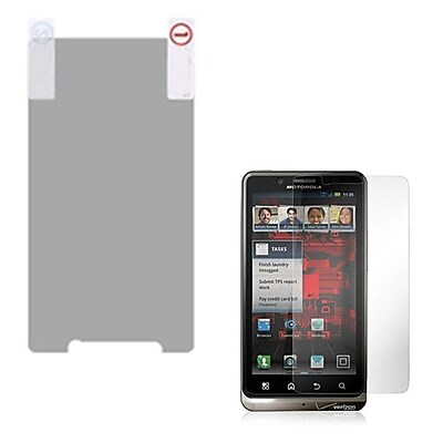 Insten Anti Grease LCD Screen Protector For Motorola Droid Bionic Clear