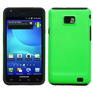 Insten® Fusion Faceplate Case F/Samsung I777 (Galaxy S II) AT&T, Apple Green