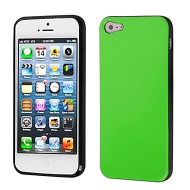 Insten® Argyle Candy Skin Cover F/iPhone 5/5S, Green/Black