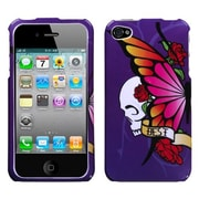 Insten® Phone Protector Cover F/iPhone 4/4S, Best Friend Purple