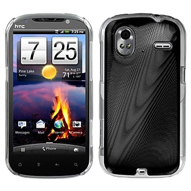 Insten® Protector Case For HTC Amaze 4G, Black Cosmo