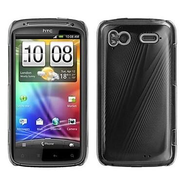 Insten® Back Protector Case For HTC Sensation 4G, Black Cosmo
