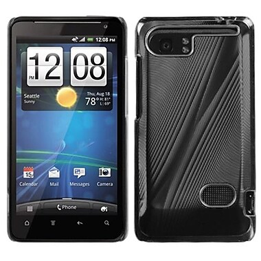 Insten® Faceplate Case For HTC Vivid, Black Cosmo
