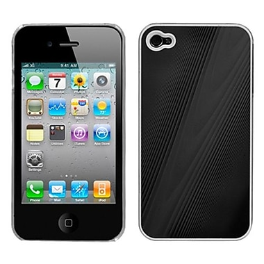 Insten® Cosmo Back Protector Cover F/iPhone 4/4S, Black