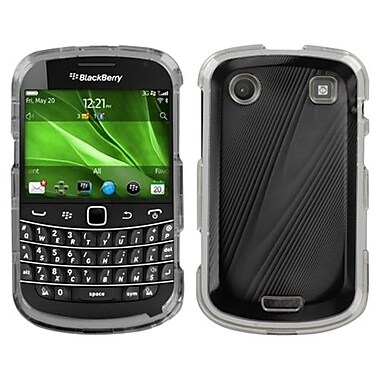 Insten® Faceplate Case For BlackBerry 9930, Black Cosmo