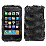 Insten® Diamante Protector Case F/iPhone 3G/3GS, Black