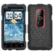 Insten® Diamante Protector Case For HTC EVO 3D/EVO V 4G, Black