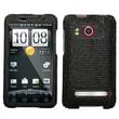 Insten® Diamante Protector Case For HTC EVO 4G, Black