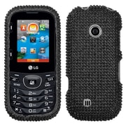 Insten® Protective Hard Case For LG Cosmos2 VN251, Gloss Black Diamond Rhinestone