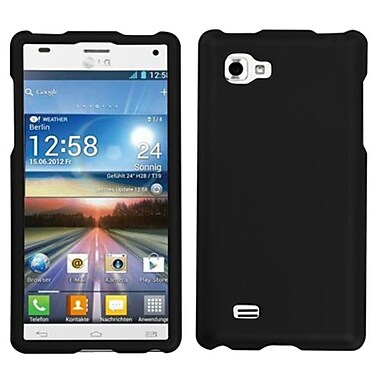 Insten® Protector Cover For LG P880 Optimus 4X HD, Black