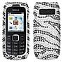 Insten® Diamante Protector Case For Nokia 1616, Black