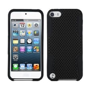 Insten® Apex Hybrid Cover For iPod Touch 5th Gen, Black