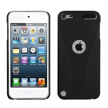 Insten® Wave Phone Back Rubberized Protector Covers For iPod Touch 5th Gen